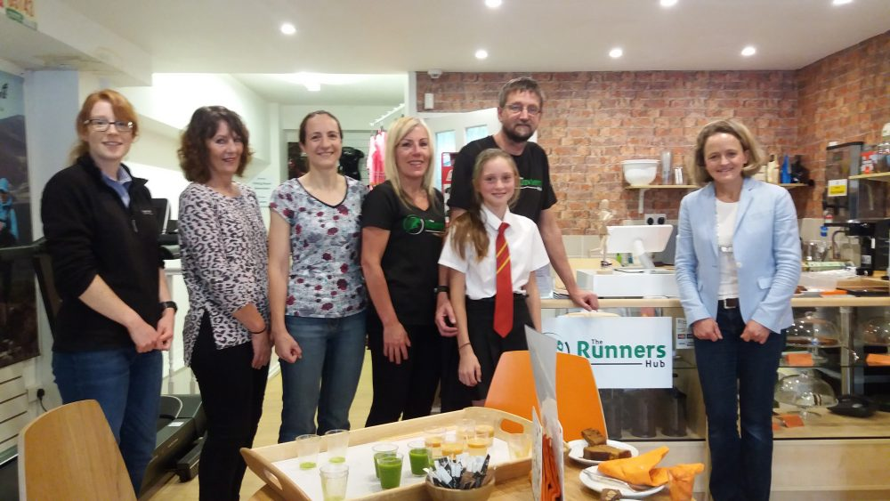 Mara Yamauchi The Runners Hub heswall